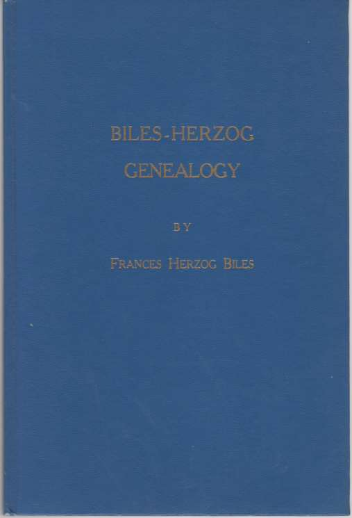 Image for Biles-Herzog Genealogy