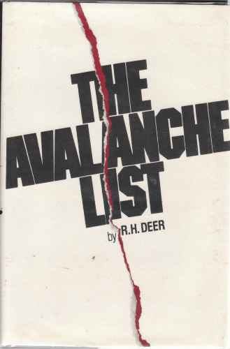 Image for The Avalanche List   Author Signed