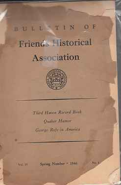 Image for Bulletin of Friends Historical Association, Vol 35, Spring 1946