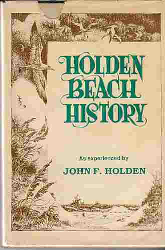 Image for Holden Beach History  (Author Signed)