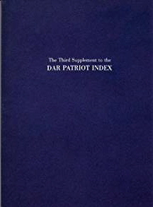 Image for The First Supplement to the DAR Patriot Index
