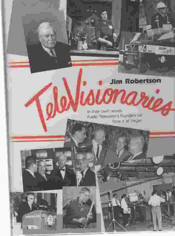 Image for Televisionaries  (Author Signed)