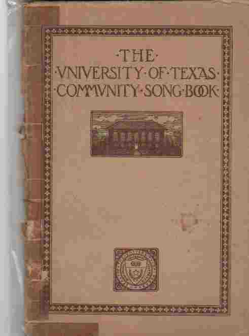 Image for The University of Texas Community Song Book