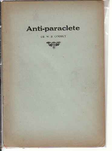 Image for Anti-Paraclete