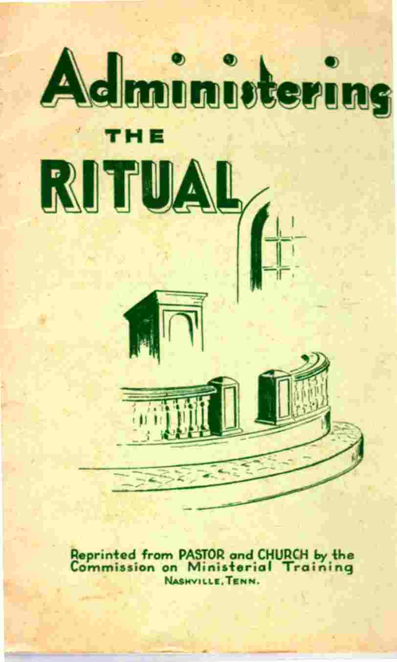 Image for Administering the Ritual