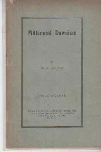 Image for Millennial Dawnism