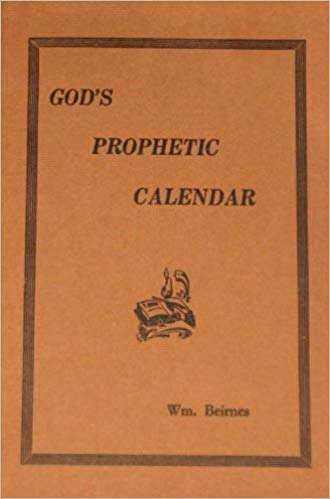 Image for God's Prophetic Calendar