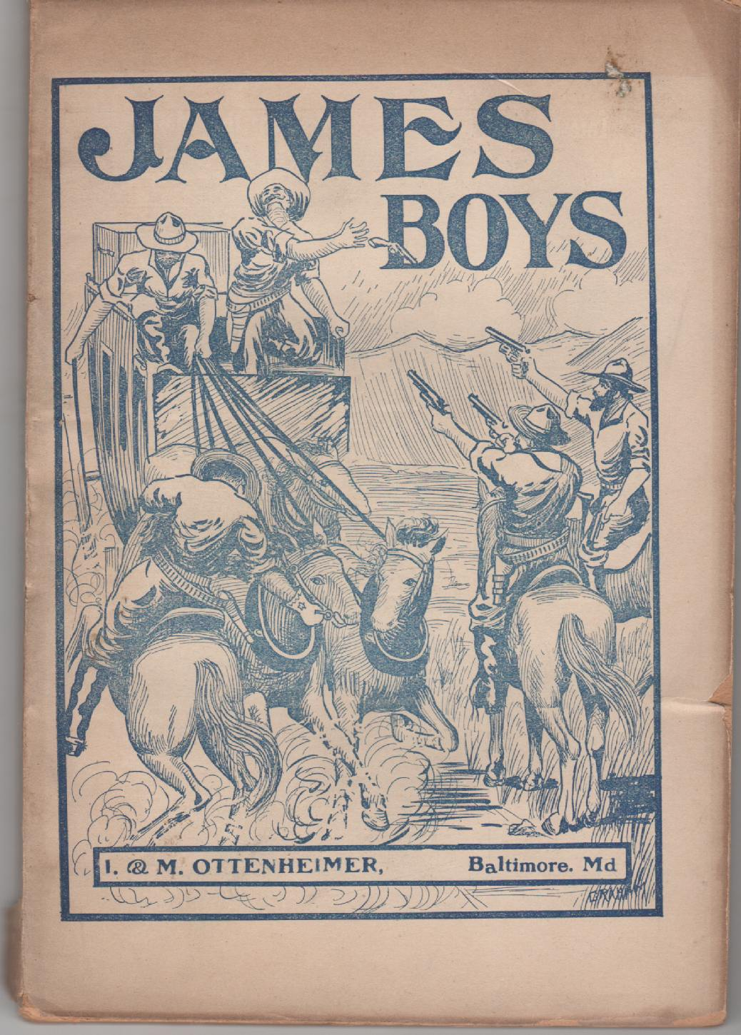 Image for James boys ;  Deeds of daring ... a complete record of their lives and deaths, narrating many of their stirring adventures, which have only recently ... compiled in their home state -- Missouri