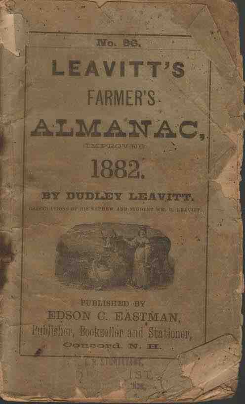 Image for Leavitt's Farmer's Almanac, 1882 No. 86