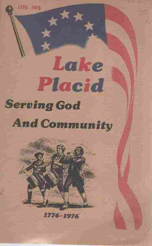 Image for Lake Placid Serving God and Community 1776-1976