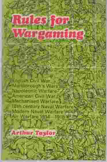 Image for Rules for wargaming