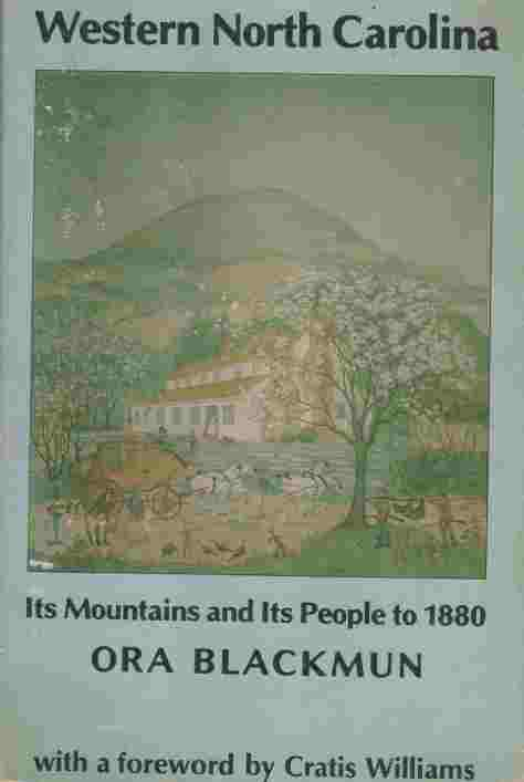 Image for Western North Carolina  It's Mountains and It's People to 1880