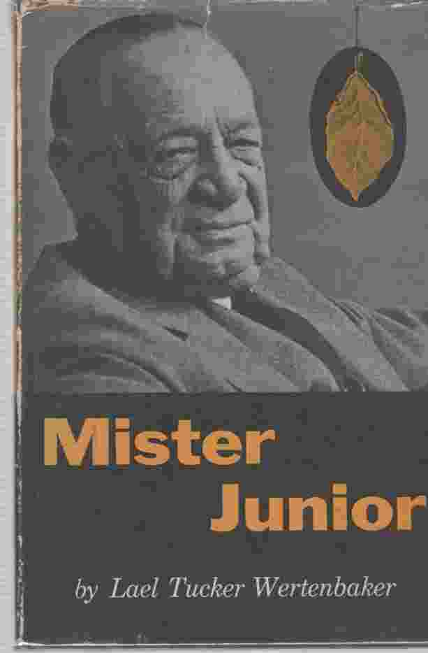 Image for Mister Junior The story of Joseph F. Cullman, Jr.