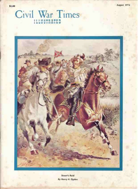 Image for Civil War Times Illustrated, Vol XIII, Number 5, August 1974