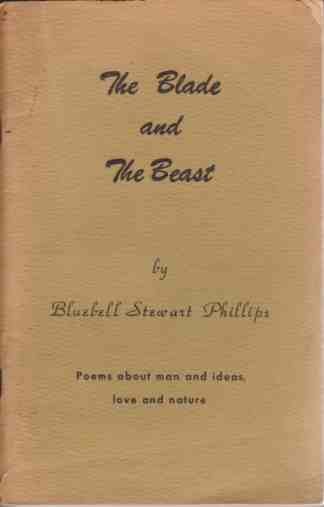 Image for The blade and the beast;  Poems about man and ideas, love and nature