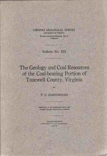 Image for The Geology and Coal Resources of the Coal-bearing Portion of Tazewell County, Virginia