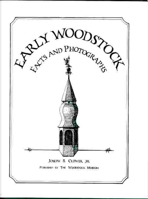 Image for Early Woodstock  Facts and photographs