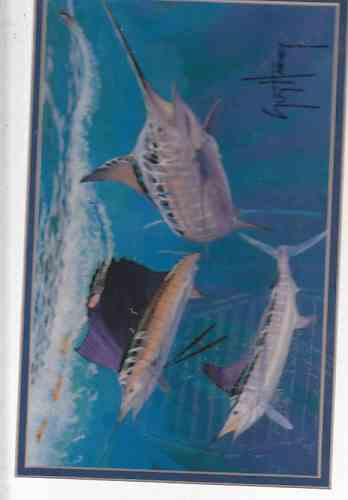 Image for Bill Fish Three Underwater (Artist Signed Print)