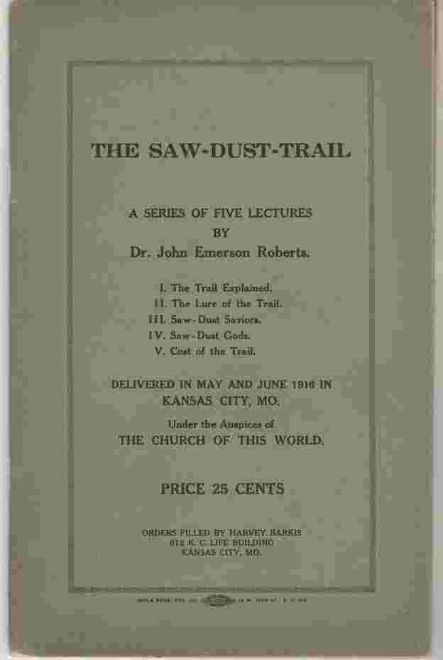 Image for The Saw-Dust-Trail
