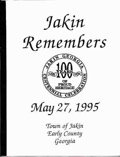 Image for Jakin Remembers