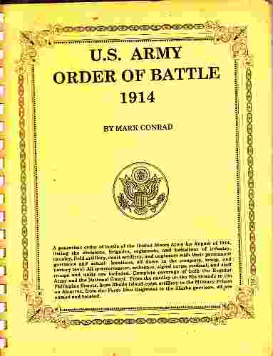 Image for U S Army Order of Battle 1914