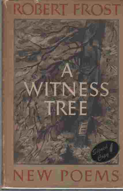 Image for A Witness Tree (Author Signed)