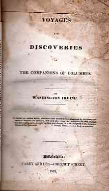 Image for Voyages and Discoveries of the Companions of Columbus