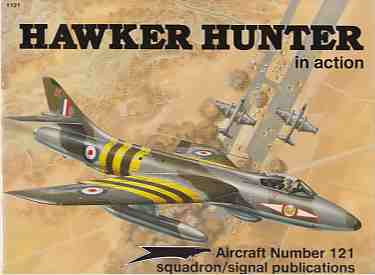 Image for Hawker Hunter in Action - Aircraft No. 121
