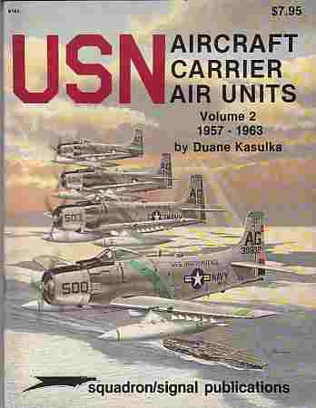Image for USN Aircraft Carrier Air Units, Volume 2  1957-1963 - Specials series