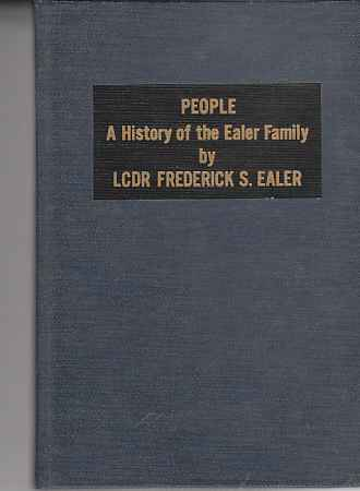 Image for People  A History of the Ealer Family