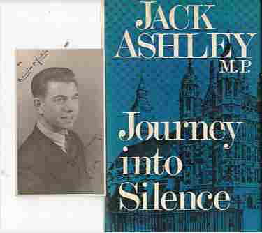 Image for Journey into Silence (with signed photo of author)
