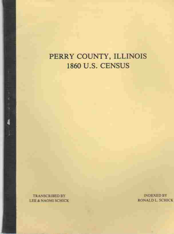 Image for Perry County, Illinois 1860 U.S. census