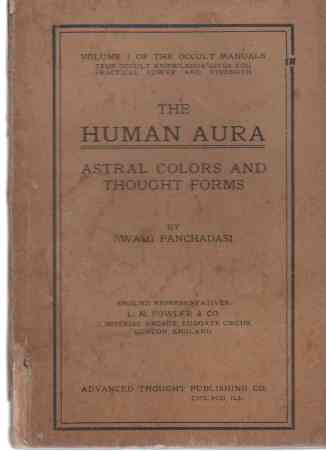 Image for The Human Aura  Astral Colors and Thought Forms