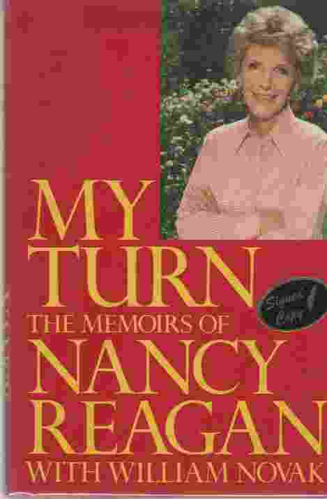 Image for My Turn  The Memoirs of Nancy Reagan (Author Signed)