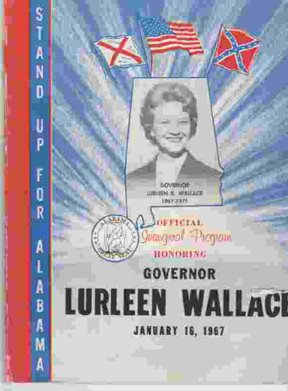 Image for Official Inaugural Program Honoring Governor Lurleen Wallace January 16, 1967
