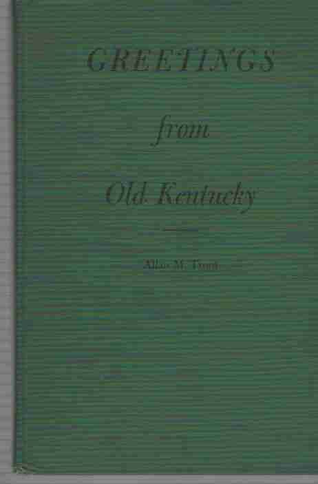 Image for Greetings from Old Kentucky