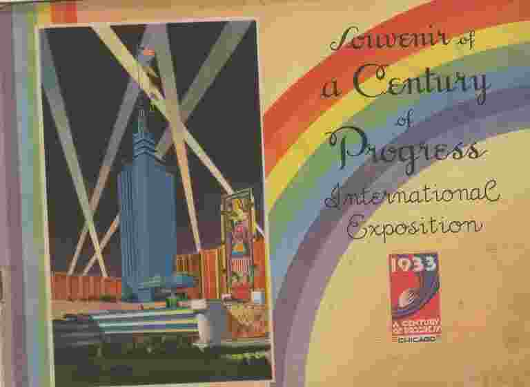 Image for SOUVENIR OF A CENTURY OF PROGRESS International Exposition 1933