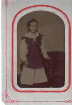 Image for Tin Type of Young Girl
