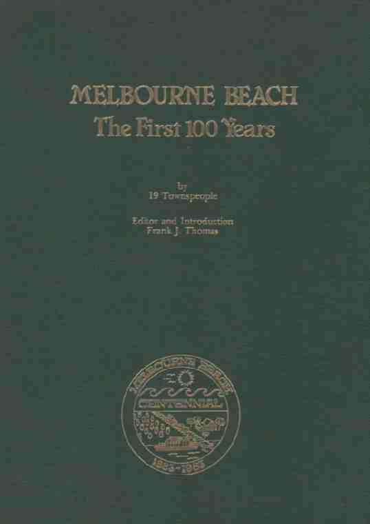 Image for Melbourne Beach, The first 100 Years