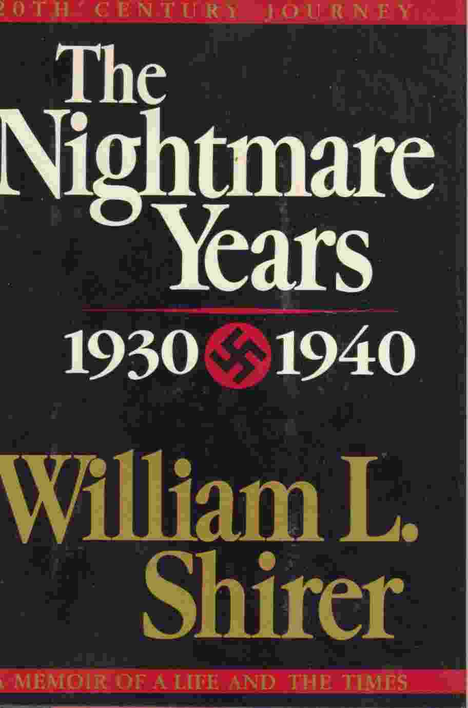 Image for The Nightmare Years  1930-1940,