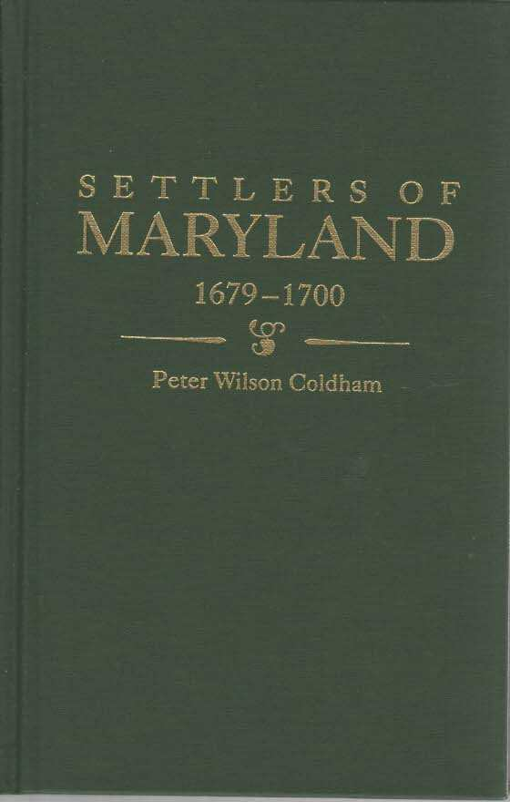 Image for Settlers of Maryland, 1679-1700