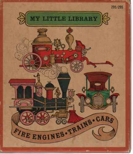 Image for My Little Library  My Little Book Of Fire Engines, My Little Book Of Trains, My Little Book Of Cars