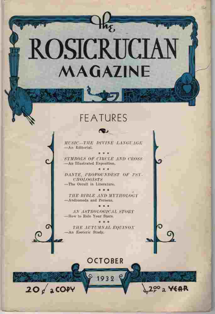 Image for The Rosicrucian Magazine October, 1932, Vol. 24, No. 10 Rays from the Rose Cross