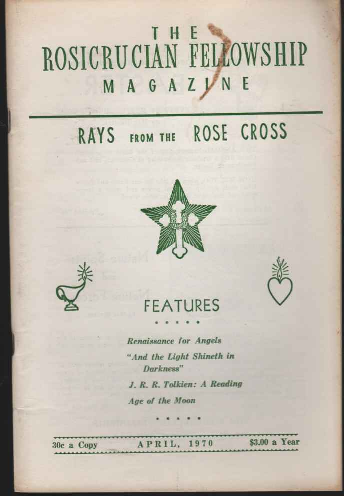 Image for The Rosicrucian Fellowship Magazine, April, 1970, Vol. 62, No. 4 Rays from the Rose Cross