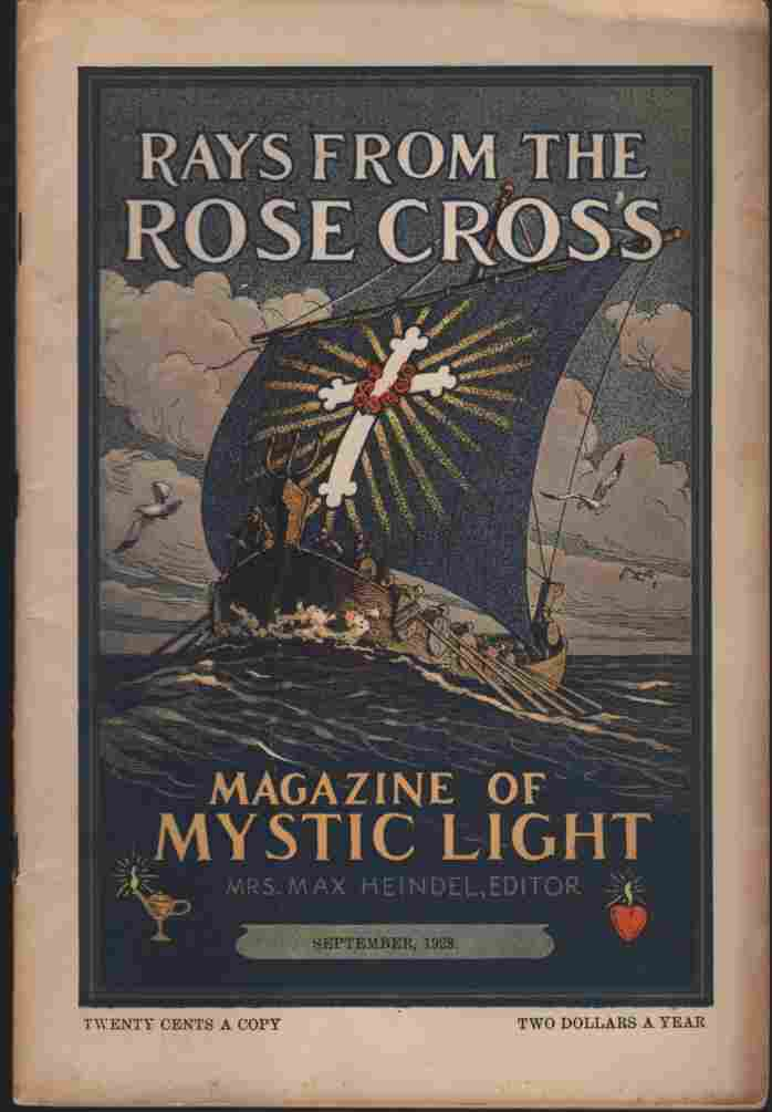 Image for Rays from the Rose Cross; a Magazine of Mystic Light, September 1928, Vol. 20, No. 9