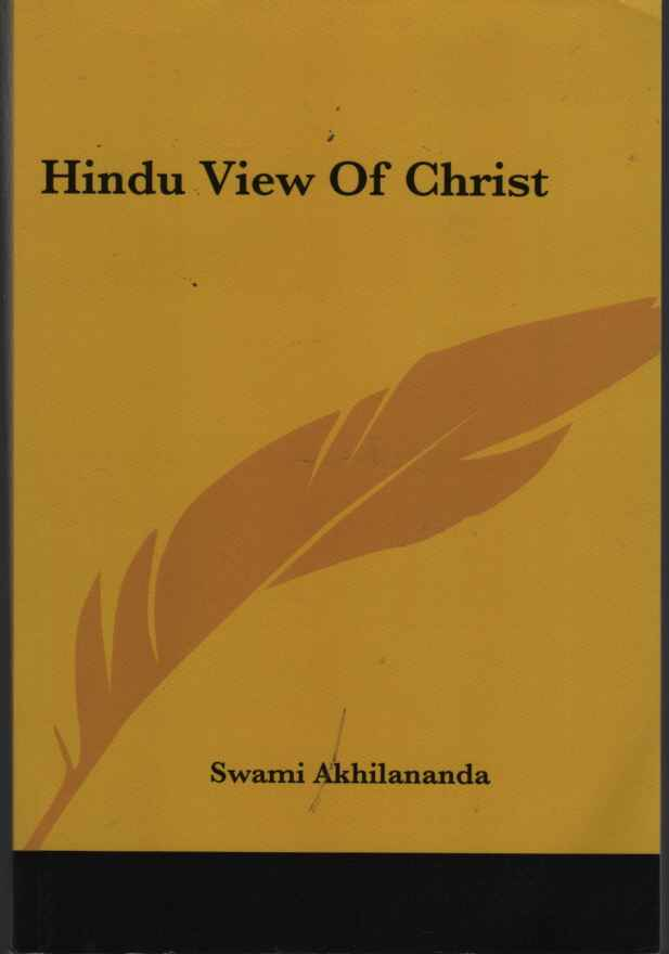 Image for Hindu View of Christ