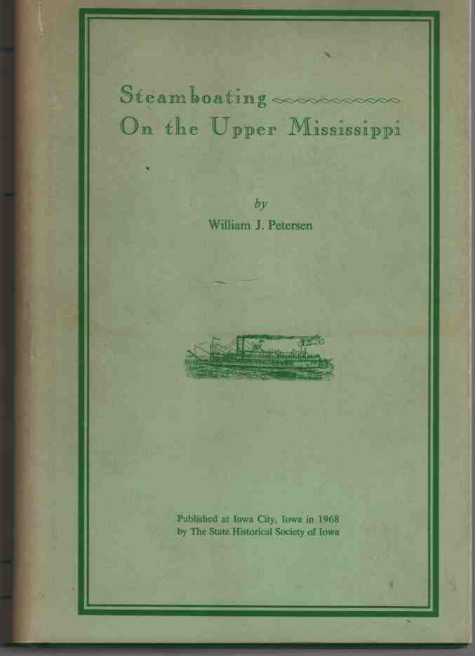 Image for Steamboating on the Upper Mississippi,
