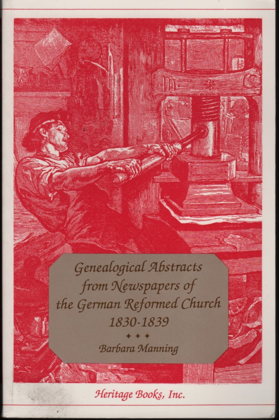 Image for Genealogical Abstracts from Newspapers of the German Reformed Church, 1830-1839