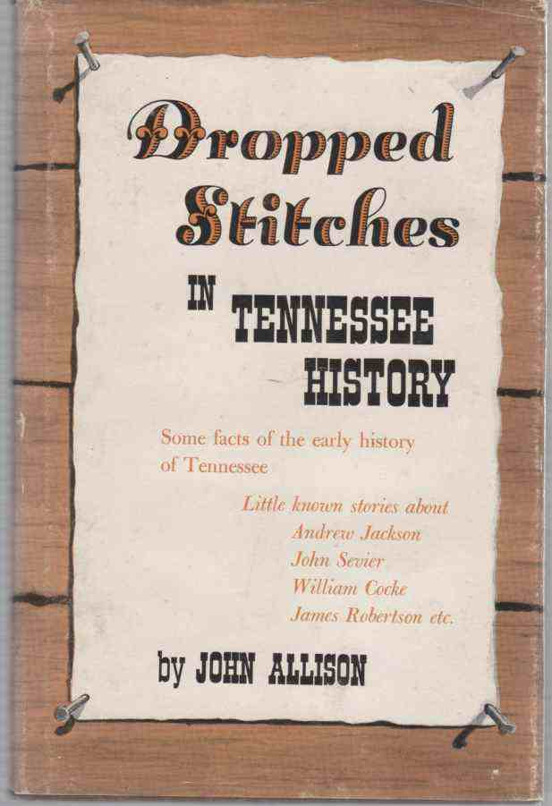 Image for Dropped Stitches in Tennessee History